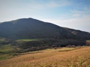 Looking back at Dufton Pike