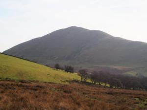 Dufton Pike from the Pennine Way