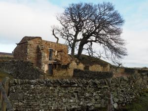 The ruins of Freewill House