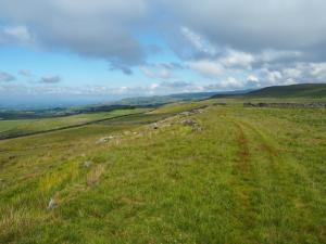 Looking back along the permissive path