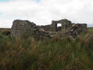 An old building on Slate Quarry Moss