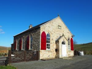 A former Methodist Chapel converted into a hous.
