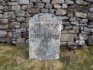 Alston to Middleton milestone