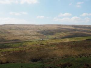 The Harwood valley backed by Herdship Fell, aka Viewing Hill