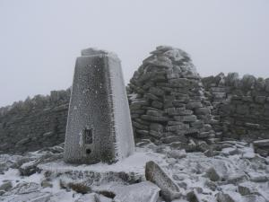 The summit of Grey Nag