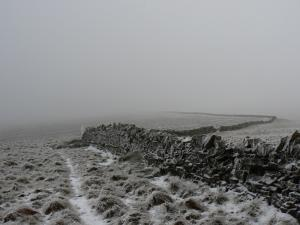 Following the wall to Hartside Height