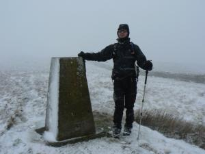 Our third and final trig point of the day on Park Fell