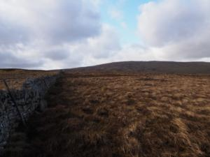 Following the wall over Great Heaplaw