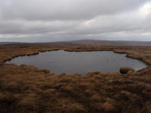 A small tarn I passed on my way to Tom Smith's Stone Top