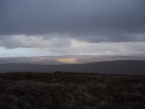 A patch of sunshine on Alston Moor