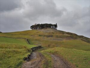 Looking back up at Kirkcarrion