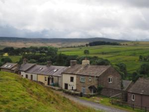 The row of houses at Fell View