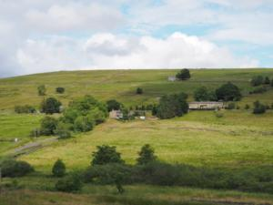 Looking across the valley towards Spartylea