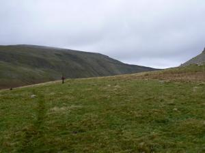 Walking over Middle Tongue
