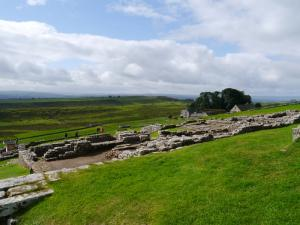 Another view of the remains at Housesteads