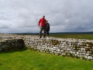 Back on the Wall at Housesteads