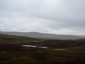Looking across the moors towards Standards