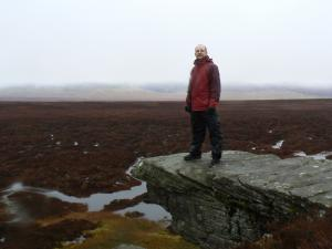 On Dow Crag
