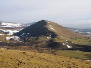 Dufton Pike from the top of Knock Pike