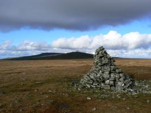 The summit of Knock Fell