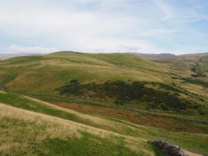 The view of Flagdaw as I began the climb up Knock Pike