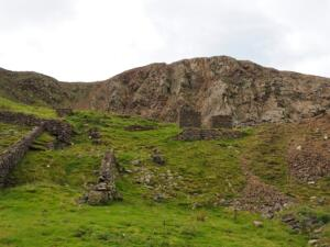 The old quarry on the northern slopes of Knock Pike