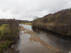 The River South Tyne from Eals Bridge