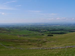 Big views across the  Eden Valley
