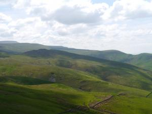 Looking south towards Cuns Fell