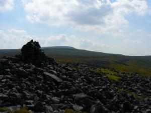 Cross Fell from Meg's Cairn