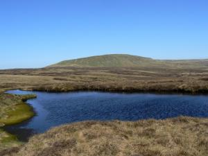 Mickle Fell from one of the small tarns near Force Beck