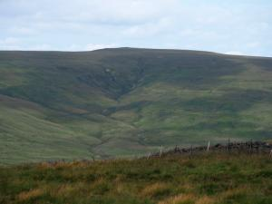 Black Hill, a summit that falls 19ft short of being classed as a Nuttall