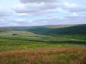 Looking down on the valley of Rook Hope