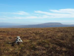 The summit of Murton Fell looking towards Mickle Fell