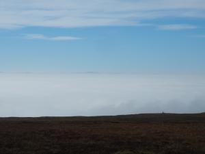 Temperature inversion over the Eden valley