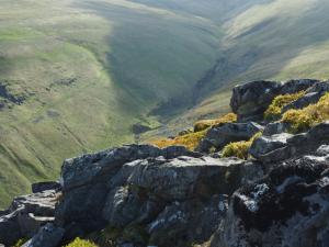 Looking down on Swindale from Slape Stones