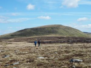 Paul and Stuart heading for Mickle Fell