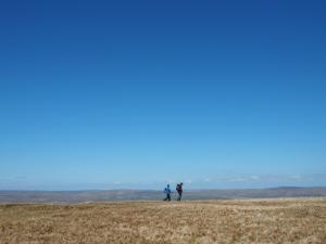 Big skies on Mickle Fell