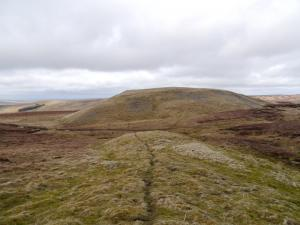 The south top of Bullman Hills