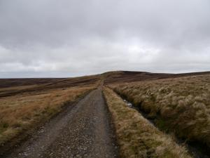 Following the Pennine Way to Pikeman Hill