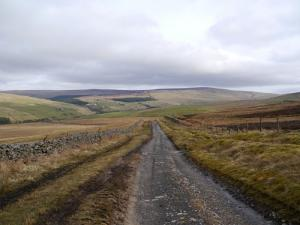 Burnhope Seat from the Pennine Way