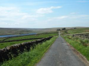 Following the lane to Balder Head
