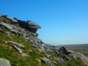 Some crags on  Shacklesborough