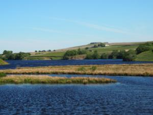 Blackton Reservoir and Goldsborough