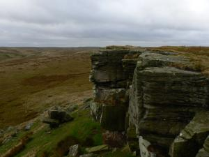 Some of Goldsborough's impressive crags