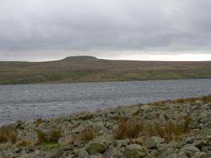 Balderhead Reservoir and Shacklesborough