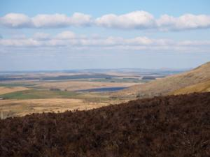 A view towards Tindale Tarn