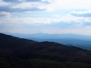 Looking towards the Lake District Fells