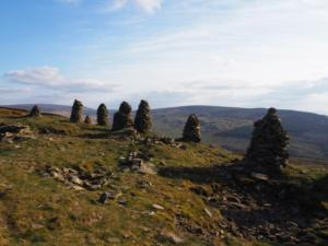 Another view of the Talkin Fell curricks