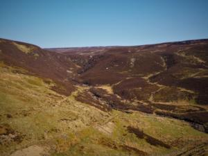 Looking up the valley of Arngill